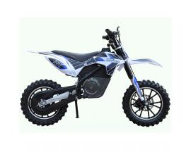 """Mini motocross electrica skateflash dirt azul rueda 2.5x10"""" bateria 12a motor 500w - Imagen 1"""
