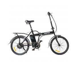 """Bicicleta electrica skateflash folding ebike negra rueda 20"""" x 1.75"""" bateria 4.4a motor 24v/250w"""