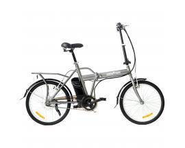 """Bicicleta electrica skateflash folding ebike gris rueda 20"""" x 1.75"""" bateria 4.4a motor 24v/250w - Imagen 1"""