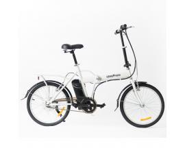 """Bicicleta electrica skateflash folding ebike blanca rueda 20"""" x 1.75"""" bateria 4.4a motor 24v/250w - Imagen 1"""