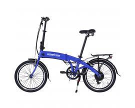 """Bicicleta electrica skateflash folding pro ebike azul rueda 20"""" x 1.75"""" bateria 7.8a 7 velocidades motor 36v/250w - Imagen 1"""