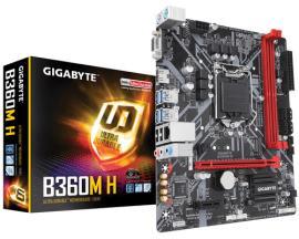 Gigabyte B360M H placa base LGA 1151 (Zócalo H4) Intel B360 Express Micro ATX - Imagen 1