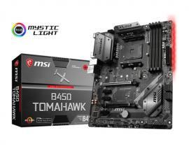 MSI B450 TOMAHAWK placa base Zócalo AM4 AMD B450 ATX - Imagen 1
