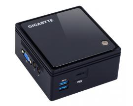 Gigabyte GB-BACE-3160 PC/estación de trabajo barebone 1,6 GHz J3160 0,69 l tamaño PC Negro