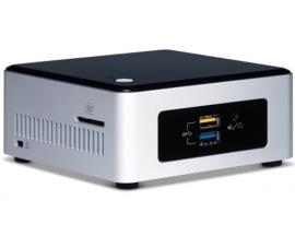 Intel NUC5PPYH BGA 1170 1,6 GHz N3700 UCFF Plata, Negro
