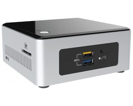 Intel NUC NUC5CPYH BGA 1170 1,6 GHz N3050 UCFF Negro, Plata - Imagen 1