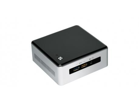 Intel NUC NUC5i3RYHS BGA 1168 2 GHz i3-5005U UCFF Negro, Gris - Imagen 1