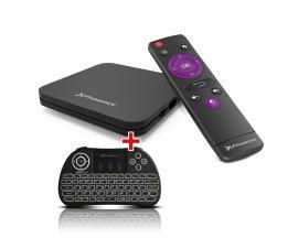 Kit promocional folleto dynos tvbox + mando
