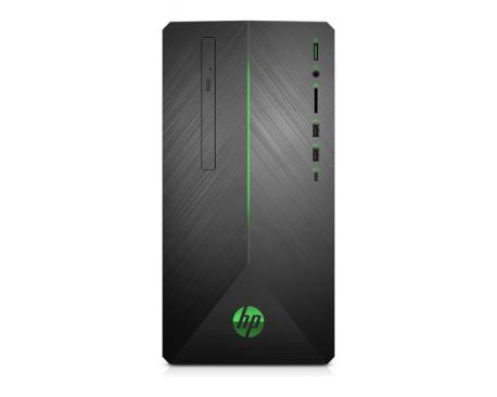 HP Pavilion 690-0007ns 2,8 GHz 8ª generación de procesadores Intel® Core™ i5 i5-8400 Negro Mini Tower PC - Imagen 1