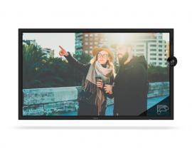 "NEC MultiSync C751Q SST 190,5 cm (75"") LED Pantalla táctil 4K Ultra HD Digital signage flat panel Negro"