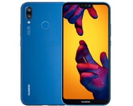 "Telefono movil smartphone huawei p20 lite blue/ 5.84""/ 64gb rom/ 4gb ram/ 16+2 mpx/ 16 mpx/ octa core/ dual sim/ type c/ huella"