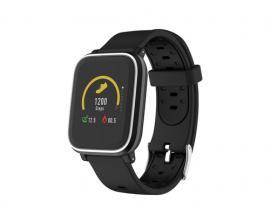 "Pulsera reloj deportiva denver sw-160 negro/ smartwatch/ ips/ 1.3""/ bluetooth - Imagen 1"