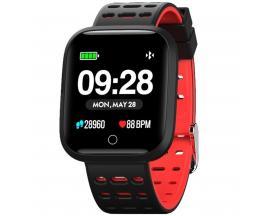 "Reloj innjoo sport watch rojo cuadrado/ 1.33""/ 512kb rom/ 64kb ram/ bluetooth 4.0 - Imagen 1"