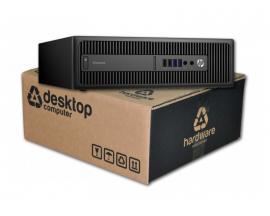 HP EliteDesk 800 G1 Intel Core i5 4570 3.2 GHz. · 8 Gb. DDR3 RAM · 500 Gb. SATA · DVD · COA Windows 8 Pro actualizado a Windows