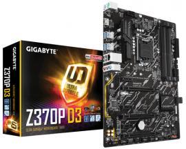 Z370P D3 S1151V2 Z370 ATX SND+GLN+U3+M2 SATA 6GB/S DDR4    IN