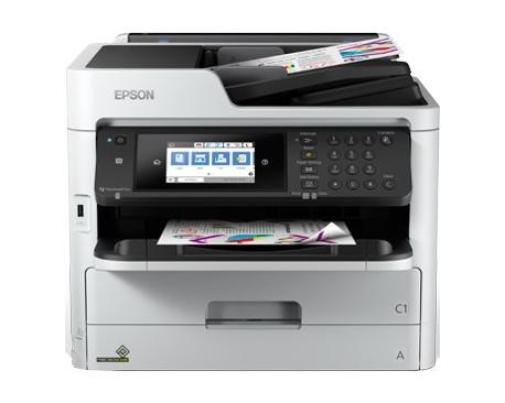 Multifuncion epson inyeccion color wf-c5710dwf workforce pro fax/ a4/ 34ppm/ usb/ red/ wifi/ wifi direct/ duplex todas las funci