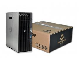 HP WorkStation Z620 TorreIntel Xeon Octa Core E5 2665 2.4 GHz. · 32 Gb. DDR3 ECC RAM · 256 Gb. SSD · 500 Gb. SATA · DVD-RW ·