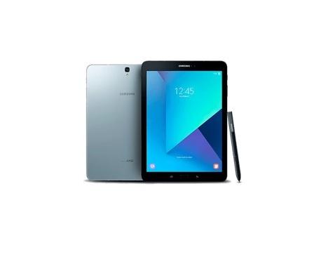 "Tablet samsung galaxy tab s3 9.7"" silver / 32gb rom / 4gb ram / quad core / 13mpx - 5mpx / 4g - Imagen 1"