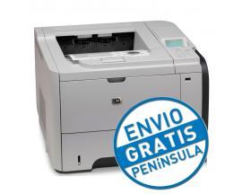 HP LaserJet P3015NVelocidad: Hasta 40 ppm - Resolución: 1200 x 1200 dpi - Memoria: 128 Mb. RAM - Conectividad: USB, Ethernet