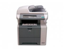 HP M3035MFP Tamaño de papel A4 · Dúplex · Blanco y negro 33ppm · Resolución 1200x1200ppp · Memoria RAM 256Mb. · USB, Red, Fax ·