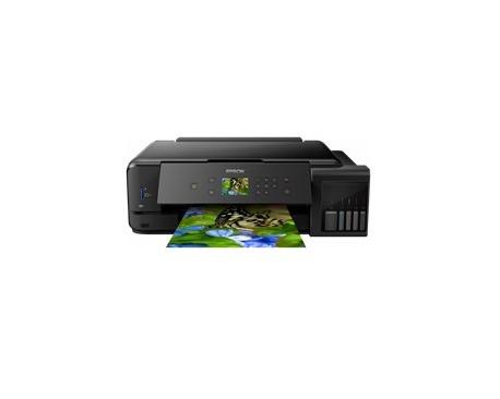 Multifuncion epson inyeccion color ecotank et-7750 a3/ 28ppm/ usb/ red/ wifi/ wifi direct/ duplex impresion - Imagen 1
