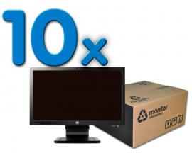HP LA2006X Pack 10   	Pack 10 Unidades: Led 20 '' 16:9 · Resolución 1600x900 · Dot pitch 0.0277 mm · Respuesta 5 ms · Co