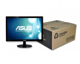 Asus VS197 Led 18.5 '' 16:9 · Resolución 1366x768 · Respuesta 5 ms · Contraste 50000:1 · Brillo 250 cd/m2 · Ángulo visión 160°v