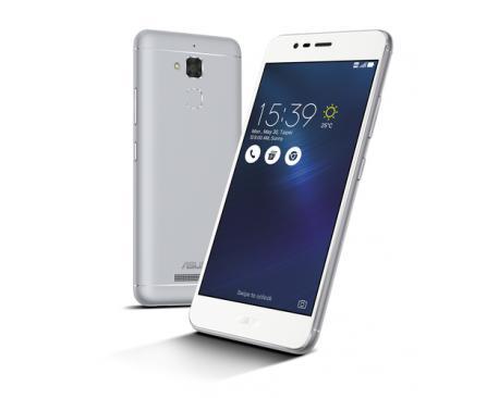 """ASUS ZenFone 3 Max ZC520TL-4J016WW 13,2 cm (5.2"""") 3 GB 32 GB SIM doble 4G Plata 4130 mAh - Imagen 1"""