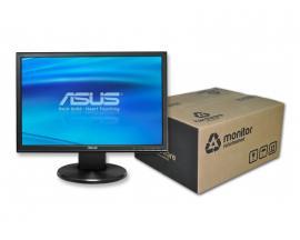 Asus VW193 LCD 19 '' 16:10 · Resolución 1440x900 · Dot pitch 0.285 mm · Respuesta 5 ms · Contraste 800:1 · Brillo 300 cd/m2 · Á