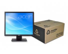 Acer V193 LCD 19 '' 5:4 · Resolución 1280x1024 · Dot pitch 0.294 mm · Respuesta 5 ms · Contraste 50000:1 · Brillo 250 cd/m2 · Á