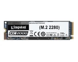 Kingston Technology KC2000 unidad de estado sólido M.2 2000 GB PCI Express 3.0 3D TLC NVMe - Imagen 1