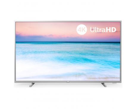 "Tv philips 55"" led 4k uhd/ 55pus6554/ hdr10+/ smart tv/ 3 hdmi/ 2 usb/ dvb-t/t2/t2-hd/c/s/s2/ wifi/ a+ - Imagen 1"