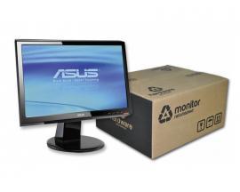 Asus VH192D LCD 19 '' 16:9 · Resolución 1366x768 · Dot pitch 0.3 mm · Contraste 10000:1 · Brillo 250 cd/m2 · Ángulo visión 160°