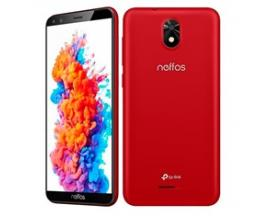 "Telefono movil smartphone tp link neffos c5 plus rojo - 5.34"" - 16gb rom - 1gb ram - 5mpx - 2mpx - 3g - quad core - android"