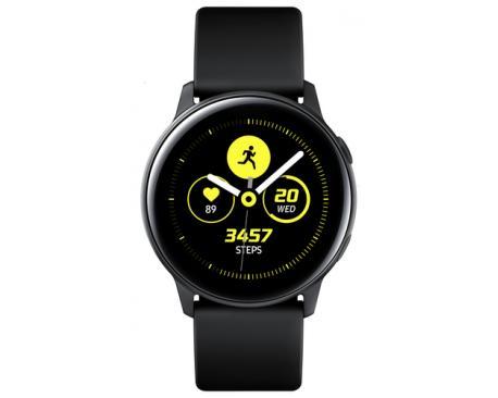 "Samsung Galaxy Watch Active reloj inteligente Negro SAMOLED 2,79 cm (1.1"") GPS (satélite) - Imagen 1"