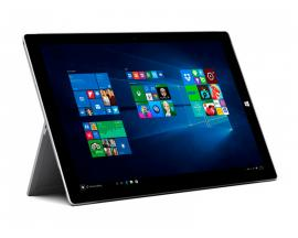 Microsoft Surface Pro 3 Intel Core i5 4300U 1.9 GHz. · 8 Gb. DDR3 RAM · 256 Gb. SSD · COA Windows 8.1 Pro actualizado a Windows