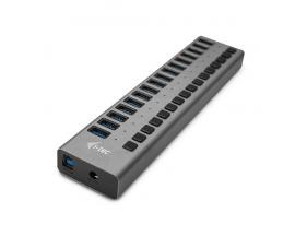 i-tec USB 3.0 Charging HUB 16port + Power Adapter 90 W - Imagen 1