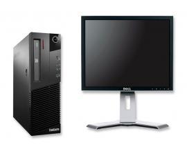 Lenovo M93P SD + DELL 2007FP   Intel Core i5 4570 3,2 GHz. · 8 Gb. DDR3 RAM · 500 Gb. SATA · DVD-RW · COA Windows 8 Prof actual