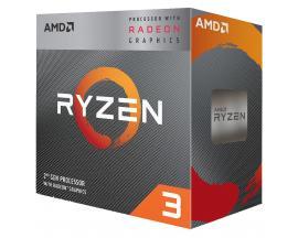 Micro. procesador amd ryzen 3 3200g 3.6ghz 4mb am4 radeon vega 8 - Imagen 1