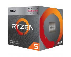 Micro. procesador amd ryzen 5 3400g 3.7ghz 4mb am4 radeon rx vega 11 - Imagen 1