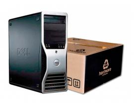 Dell PRECISON 390 Intel Core 2 6300 1.86 GHz. · 4 Gb. DDR2 RAM · 160 Gb. SATA · DVD · Ubuntu GNU/Linux - Imagen 1