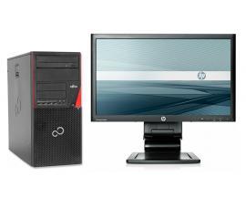 Fujitsu P720 Torre + TFT 20''   Intel Core i5 4570 3.2 GHz. · 8 Gb. DDR3 RAM · 500 Gb. SATA · DVD-RW · COA Windows 8.1 Pro actu