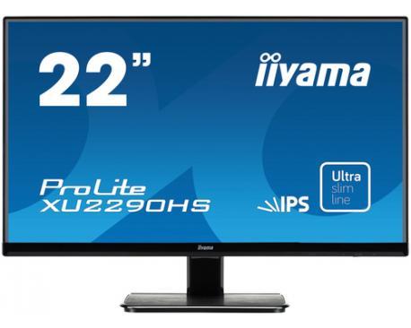 "iiyama ProLite XU2290HS-B1 pantalla para PC 54,6 cm (21.5"") Full HD LED Mate Negro - Imagen 1"