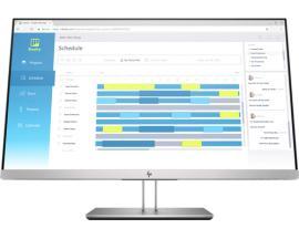 "HP EliteDisplay E273d LED display 68,6 cm (27"") Full HD Plana Negro, Plata - Imagen 1"