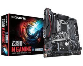 Gigabyte Z390 M Gaming placa base LGA 1151 (Zócalo H4) Micro ATX Intel Z390 - Imagen 1