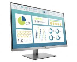 "HP EliteDisplay E273 pantalla para PC 68,6 cm (27"") Full HD Plana Negro, Plata - Imagen 1"