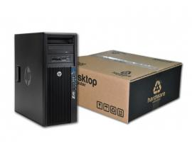 HP WorkStation Z420 Torre Intel Xeon Six Core E5 1650 3.2 GHz. · 32 Gb. DDR3 ECC RAM · 256 Gb. SSD · DVD-RW · COA Windows 8 Pro