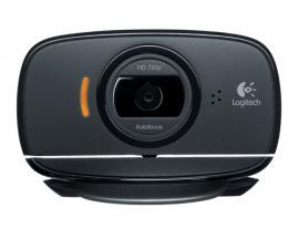 Logitech C525 cámara web 8 MP 1280 x 720 Pixeles USB 2.0 Negro - Imagen 1