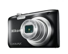 "COOLPIX A100, Case, Selfie stick Cámara compacta 20,1 MP CCD 5152 x 3864 Pixeles 1/2.3"" Negro - Imagen 1"
