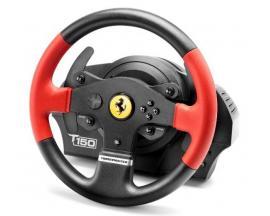 T150 Ferrari Wheel Force Feedback Volante + Pedales PC,PlayStation 4,Playstation 3 Negro, Rojo - Imagen 1